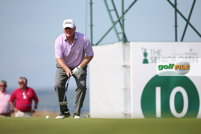 Ronan Rafferty (NIR) during Round One of the 2014 Senior Open Championship presented by Rolex from Royal Porthcawl Golf Club, Porthcawl, Wales. Picture:  David Lloyd / www.golffile.ie