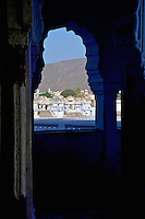 A view at the holy town of Pushkar in Rajasthan