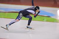 SCHAATSEN: SALT LAKE CITY: Utah Olympic Oval, 16-11-2013, Essent ISU World Cup, 500m, Sang-Hwa Lee (KOR), ©foto Martin de Jong