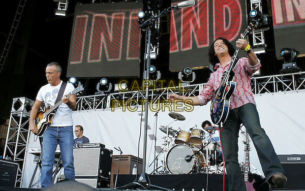 TEARS FOR FEARS.The KROQ Miller Lite Inland Invasion 4 held at The Hyundai Pavilion at Glen Helen Devore, California .September 18, 2004.stage, concert, music, live, gig, full length, guitars.www.capitalpictures.com.sales@capitalpictures.com.Copyright by Debbie VanStory