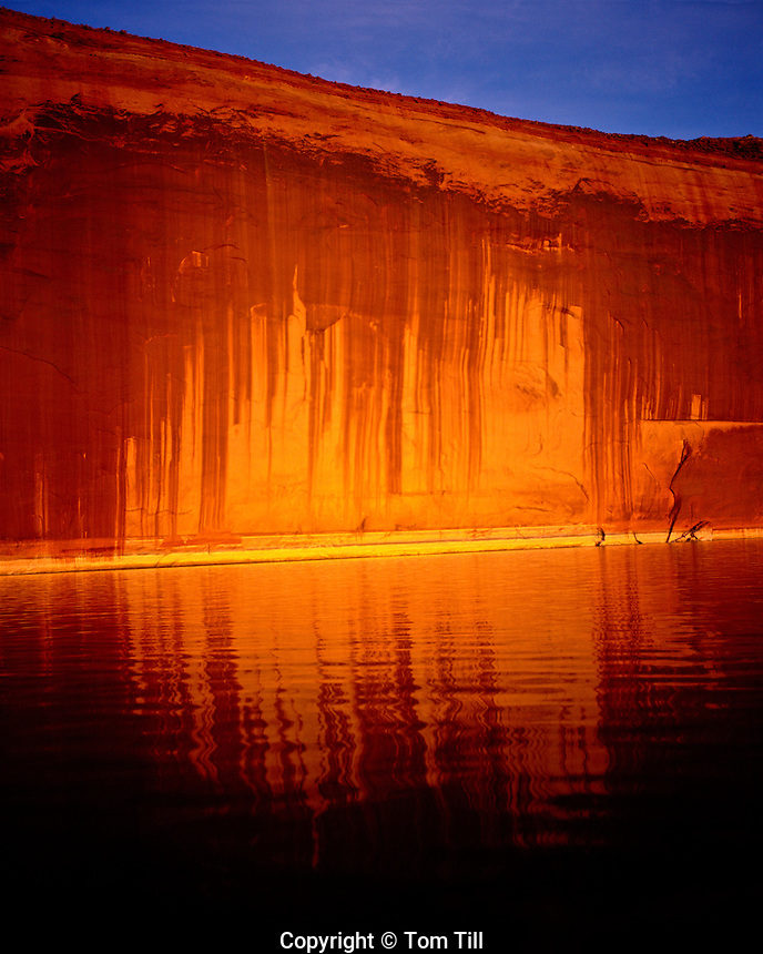 Tapestry Wall Reflection, Glen Canyon National Recreation Area, Utah