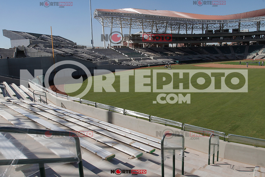 Casi esta listo el Estadio Sonora donde del 1 al 7 de febrero se llevara acabo la serie del Caribe 2013, Hermsillo, Sonora..(Baldemar de los Llanos/NortePhoto©)