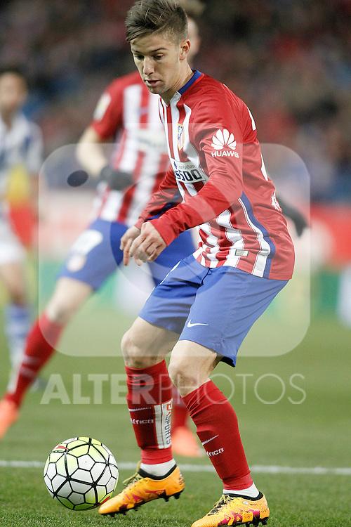 Atletico de Madrid's Luciano Vietto during La Liga match. March 1,2016. (ALTERPHOTOS/Acero)