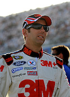 Feb. 27, 2009; Las Vegas, NV, USA; NASCAR Sprint Cup Series driver Greg Biffle during qualifying for the Shelby 427 at Las Vegas Motor Speedway. Mandatory Credit: Mark J. Rebilas-
