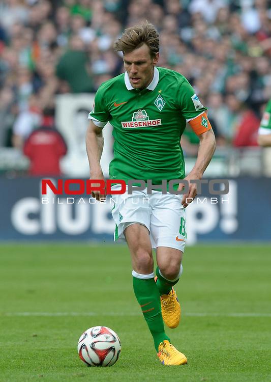 02.05.2015, Weserstadion, Bremen, GER, 1.FBL, Werder Bremen vs Eintracht Frankfurt, im Bild Clemens Fritz (Bremen #8)<br /> <br /> Foto &copy; nordphoto / Frisch