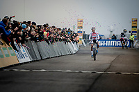 (even a U23 rider herself) Ceylin Del Carmen Alvarado (NED/Corendon-Circus) wins her very first (elite) World Cup <br /> <br /> Women's Race<br /> UCI cyclocross WorldCup - Koksijde (Belgium)<br /> <br /> ©kramon
