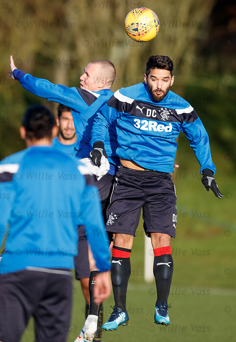 Daniel Candeias and Kenny Miller