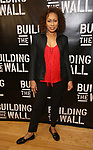 attends the press photo call for 'Building The Wall' Ripley-Grier on May 5, 2017 in New York City.