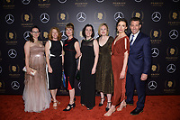 NEW YORK - MAY 18: Lindsey Smith, Alison MacAdam, Sarah Hulett, Jennifer Guerra, Zoe Clark, Kate Wells and Vincent Duffy attend the 78th Annual Peabody Awards at Cipriani Wall Street on May 18, 2019 in New York City. (Photo by Anthony Behar/FX/PictureGroup)