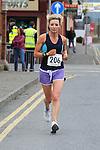 Fiona Finan taking part in the Ferdia 10k run in Ardee. Photo: Colin Bell/pressphotos.ie