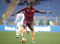 Roma&rsquo;s Antonio Ruediger in action during the Italian Serie A football match between Roma and Napoli at Rome's Olympic stadium, 4 March 2017. <br /> UPDATE IMAGES PRESS/Isabella Bonotto