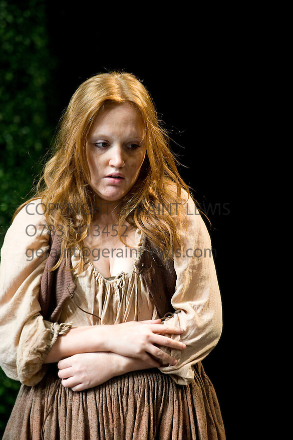 Bingo by Edward Bond,directed by Angus Jackson.With Michelle Tate as Young Woman.Opens at The Chichester Festival Theatre on 23/4/10 Credit Geraint Lewis
