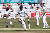 Ravi Bopara and Ryan ten Doeschate add to the Essex total during Essex CCC vs Somerset CCC, Specsavers County Championship Division 1 Cricket at The Cloudfm County Ground on 26th June 2018