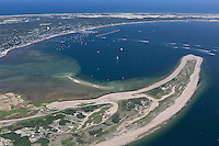 Provincetown aerial, Cape Cod, MA 2500' looking southeast