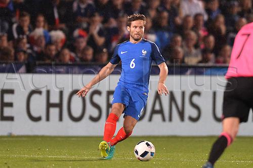 04.06.2016. Stade Saint Symphorien, Metz, France. International football freindly,France versus Scotland.  YOHAN CABAYE
