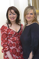 Triona McCarthy, Fashion Editor, Sunday Independent, left and Image Magazine editor Melanie Morris,pictured  at the Killarney Park Hotel Style Secrets lunch on Saturday.<br /> Picture by Don MacMonagle