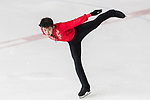 Ho Yu Leung of Hong Kong competes in Junior Men group during the Asian Open Figure Skating Trophy 2017 at Mega Ice on 02 August, 2017 in Hong Kong, China. Photo by Yu Chun Christopher Wong / Power Sport Images