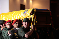 Leaders of the Army carry the coffin is carried trough the streest of Caracas during the funeral of Commander Hugo Chavez, Presdient of Venezuela during the last 14 years