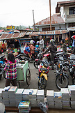 INDONESIA, Flores, street scene at the Bajawa market in Bajawa