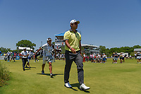 Hideki Matsuyama (JPN) makes his way down 1 during round 2 of the AT&amp;T Byron Nelson, Trinity Forest Golf Club, at Dallas, Texas, USA. 5/18/2018.<br /> Picture: Golffile | Ken Murray<br /> <br /> <br /> All photo usage must carry mandatory copyright credit (&copy; Golffile | Ken Murray)