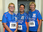 Brigid Harmon, Delores Minogue and Madeline Eccles who took part in the Seamie Weldon memorial run at St. Mary's GAA club Ardee. Photo:Colin Bell/pressphotos.ie
