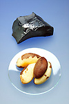 BRAZIL NUTS ARE SOURCE OF SELENIUM<br /> Nonmetal, Essential Micronutrient for Animals<br /> Selenium pictured with brazil nuts. Brazil nuts are possibly the richest dietary source of selenium.