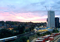 BNPS.co.uk (01202 558833)<br /> Pic:  AaronHaile/BNPS<br /> <br /> The view from the couple's old flat across Lewisham in the capital.<br /> <br /> Not so scilly ...<br /> <br /> A couple who have swapped bustling London for the idyllic Isles of Scilly say they are loving their new life.<br /> <br /> Aaron Haile, 39, and her husband Mark Bothwick, 45, made the bold decision to quit the capital for the tiny island of Bryher off the Cornish coast.<br /> <br /> They have taken on the island's only general store which doubles as a post office for the outpost's 84 inhabitants - in stark contrast to London's 8.7million population.<br /> <br /> Their previous home was a two bedroom Lewisham flat in a tower block in south east London.