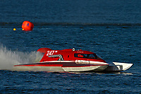 "Steve Kuhr, Jr., NM-247 ""Blitzkrieg"" (National Mod hydroplane(s)"