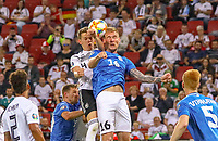 Zweikampf Matthias Ginter (Deutschland Germany) gegen Joonas Tamm (Estland, Estonia) - 11.06.2019: Deutschland vs. Estland, OPEL Arena Mainz, EM-Qualifikation DISCLAIMER: DFB regulations prohibit any use of photographs as image sequences and/or quasi-video.