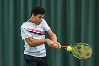 Wateringen, The Netherlands, March 16, 2018,  De Rhijenhof , NOJK 14/18 years, Nat. Junior Tennis Champ.  Christopher Lam (NED)<br />  Photo: www.tennisimages.com/Henk Koster