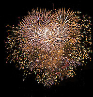 Castillp, Nit del Foc, Fireworks. Fallas 2011