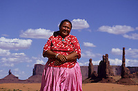 navaho Indian reservation, Monument Valley National Park, Utah, USA