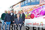 MEP Brian Crowley visited the Killarney KDYS Youth Cafe with l-r:  Darie O'Brien, John O'Shea, Niall Kelleher, Cllr John Joe Culloty,  Tim O'Donoghue and Senator Mark Daly last Saturday