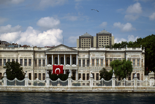 Ciragan Palace on the banks of the BOSPHORUS - ISTANBUL