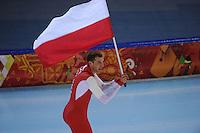 OLYMPICS: SOCHI: Adler Arena, 15-02-2014, Men's 1500m, Zbigniew Brodka (POL), ©photo Martin de Jong