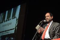 Roma, 1 Dicembre 2012.Testaccio teatro Vittora.Assemblea Cambiare si può, per l'alternativa verso le elezioni 2013.Antonio Ingroia, Magistrato