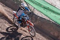 Rider at Spanish Motocross Championship at Albaida circuit (Spain), 22-23 February 2014