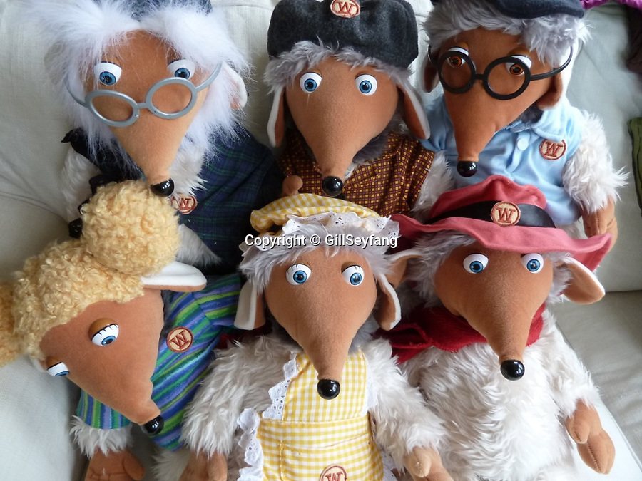 BNPS.co.uk (01202 558833)<br /> Pic: GillSeyfang/BNPS<br /> <br /> Womble toys from 1998<br /> <br /> An environmentalist is selling the world's biggest Womble collection after the famous furry creatures inspired her to save the planet as a child.<br /> <br /> Gill Seyfang, a senior lecturer in Sustainable Consumption at the University of East Anglia, owns over 1,700 items relating the furry creatures.<br /> <br /> Her vast collection ranges from soft toys to rubbish bins and was recognised by the Guinness Book of Records in 2016.<br /> <br /> Ms Seyfang, from Norwich, Norfolk, began amassing the group in the 1970s and it has continued to grow ever since.