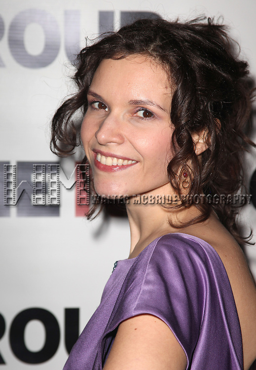 Erika Sheffer.attending The New Group's Off-Broadway Opening Night Party for 'Russian Transport' at the Yotel Club Lounge in New York City on 1/30/2012..