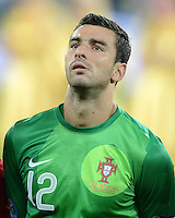 FUSSBALL  EUROPAMEISTERSCHAFT 2012   VORRUNDE Deutschland - Portugal          09.06.2012 Torwart Rui Patricio (Portugal)