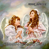 CHILDREN, KINDER, NIÑOS, paintings+++++,USLGSK0116,#K#, EVERYDAY ,Sandra Kock, victorian ,angels