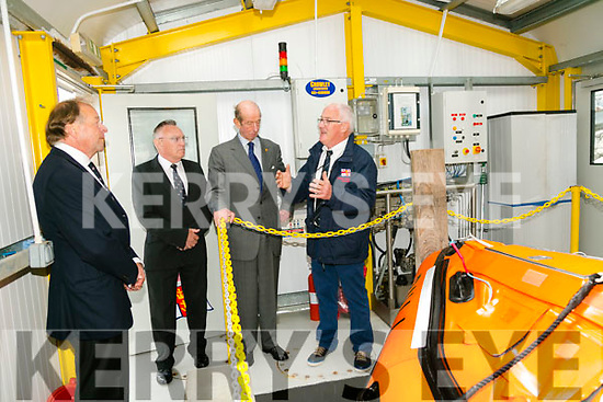 Prince Edward, Duke of Kent,  visited  the RNLI Lifeboat station in Fenit on Tuesday here with Tom McCormack and Gerard O'Donnell (Lifeboat Operations Manager)