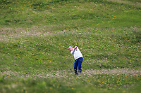Pat Murray (Clontarf) in the rough on the 16th during Round 2 of The East of Ireland Amateur Open Championship in Co. Louth Golf Club, Baltray on Sunday 2nd June 2019.<br /> <br /> Picture:  Thos Caffrey / www.golffile.ie<br /> <br /> All photos usage must carry mandatory copyright credit (© Golffile | Thos Caffrey