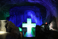 ZIPAQUIRA-COLOMBIA-29-12-2012.Catedral de sal, Zipaquirá,Colombia.Salt Cathedral in Zipaquira,Colombia.Photo: VizzorImage/Felipe Caicedo.
