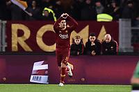 Diego Perotti Roma celebrates after scoring a goal<br /> Roma 26-12-2018 Stadio Olimpico<br /> Football Calcio Campionato Serie A<br /> 2018/2019 <br /> AS Roma - Sassuolo<br /> Foto Antonietta Baldassarre / Insidefoto