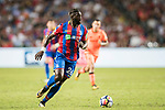 Crystal Palace midfielder Bakary Sako in action during the Premier League Asia Trophy match between Liverpool FC and Crystal Palace FC at Hong Kong Stadium on 19 July 2017, in Hong Kong, China. Photo by Yu Chun Christopher Wong / Power Sport Images