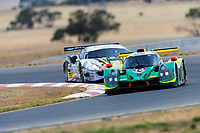 10th January 2020; The Bend Motosport Park, Tailem Bend, South Australia, Australia; Asian Le Mans, 4 Hours of the Bend, Practice Day; The number 14 Inter Europol Competition LMP3 driven by Peter Paddon, Garth Walden, Austin Mc Cusker during the team test - Editorial Use