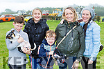 Declan and Lily Field, Isaac Robins, Gemma Robins and Nicola Field