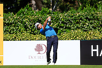 Greame McDowell (NIR) on the 5th tee during Round 3 of the Maybank Malaysian Open at the Kuala Lumpur Golf & Country Club on Saturday 7th February 2015.<br /> Picture:  Thos Caffrey / www.golffile.ie