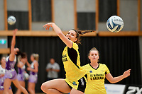 Pulse&rsquo; Karin Burger, Netball Pre Season Tournament - Pulse v Stars at Ngā Purapura, Otaki, New Zealand on Saturday 9 February  2019. <br />